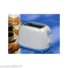 New White+Blue 2 Slice Household Kitchen Electric Toaster Bread Maker machine