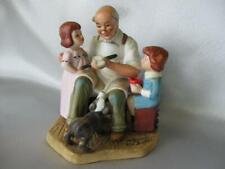 Norman Rockwell The Toy Maker porcelain Figurine 1982 collectors Item