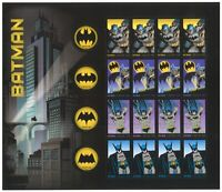 USA 2014 Marvel Comics Batman Sheetlet of 20 Stamps Forever Self-adhesive MUH