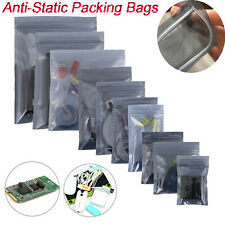Esd Anti Static Shielding Bag Translucent Zip Bag Hard Drive Resealable Bags