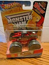 METAL MULISHA New Deco Hot Wheels MONSTER JAM 2012 with TOPPS CARD RARE