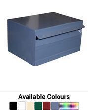Landscape Box Aluminium Letterbox - Brickin Mailbox or Stand Alone Letter Box