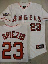 3520 Licensed MAJESTIC Angels SCOTT SPIEZIO 2002 WORLD SERIES Sewn Jersey