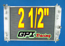 "2 1/2"" thickness Racing Radiator for Chevrolet Corvette C6 double oil cooler"