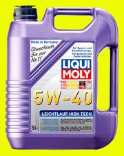 Liqui Moly Motoröl Leichtlauf High Tech, 5W-40, 5-Liter Kanister - Art.Nr. 3864