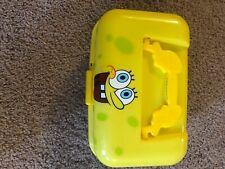Nickelodeon Spongebob Squarepants Tackle Box Yellow And Brown For Kids