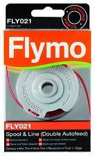 Genuine FLYMO double ligne Autofeed Bobine Et Ligne FLY021