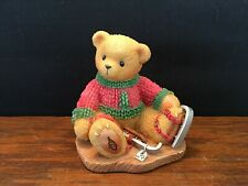 1999 Cherished Teddies Jerome Can't Bear the Cold Without You #546534 Ice Skates