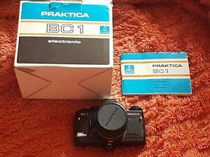 Praktica BC1 Electronic 35mm Film Camera & 50mm PENTACON 1.8 Lens vintage/boxed