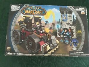 World of Warcraft Mega Bloks Demolisher Attack Set