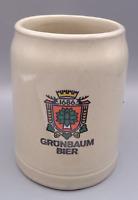 West Germany Stoneware .5 L Stoneware Vintage Grunbaum Bier Beer Mug KUF