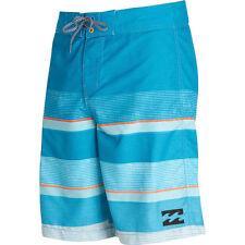 "Billabong Men Original All Day Strip Blue 21"" Lo Tides Boardshort Swimwear Sz 32"