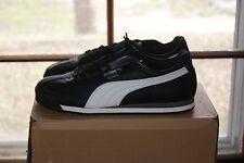 Mens Puma Roma L Basic Sz 10.5 Shoe Black White