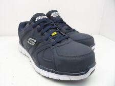 the latest 47f6f c25c5 Skechers Work Men s Synergy Ekron Alloy Toe Work Shoe Navy Size 9M