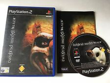 Twisted Metal: Black for Sony PlayStation 2, 2001 PS2 Game Complete