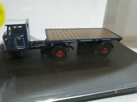 Oxford Diecast 76MH007 Mechanical Horse Flatbed Trailer Pickfords 1/76