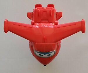 "Super Wings - Transforming Jett Toy Figure   Plane   Bot   5"" Scale"