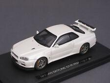 1/43 Ebbro Nissan Skyline GT-R (R34) Vspec II 2002 - weiss - 44149 - 142222