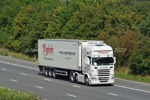 Truck Photo 12x8 - Scania R450 - Virginia Logistics - (IRL) 152 LH 929