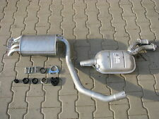 Mercedes W201 190 2.0 2.3 E 03/1991-07/1993 exhaust system silencer *F035