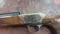 Blaser R8 Gold exclusive gold onlay (plate cover) manual production