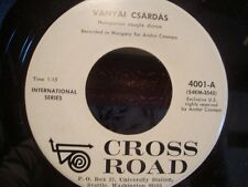 ++HUNGARIAN COUPLE DANCE vanyai csardas/bagi paros SP CROSS ROAD VG++