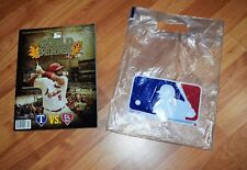 2011 WORLD SERIES PROGRAM ST. LOUIS CARDINALS ALBERT PUJOLS BRAND NEW