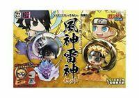 Petit Chara Land Fujin Naruto Uzumaki & Raijin Sasuke Uchiha Set Figure