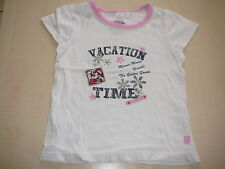 C & A tolles T-Shirt Gr. 104 / 110 weiß-rosa mit Minnie Maus Motiv !!
