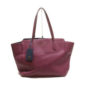 Gucci Tote Bag letter sized fits in Pinks Leather 2202294