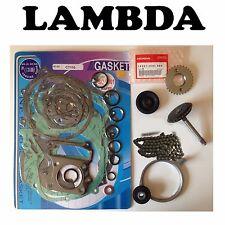 Honda CT110 Kit - full gasket tensioner oil pump drive cam roller sprocket chain
