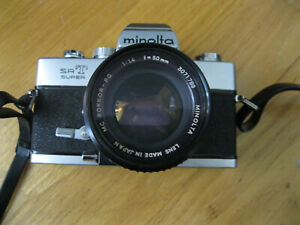 Minolta SRT Super,Rokkor-PG1:1.4 f=50mm lens,Ricoh XR Speedlite 300P, Manual Bag