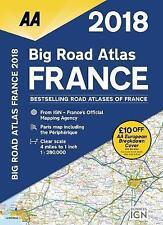 AA Big Road Atlas France: 2018 by AA Publishing (Paperback, 2017)