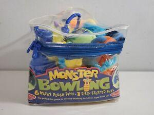 Monster Bowling ~ Melissa & and Doug # 2191 plush game age 2+
