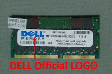 DELL 512MB X1 SODIMM 144PIN PC133 SDRAM 512M laptop memory US RAM 02-D