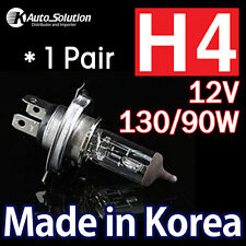 Halogen Headlight Globes Light Bulbs H4 12V 130 90W Standard Yellow Warm White