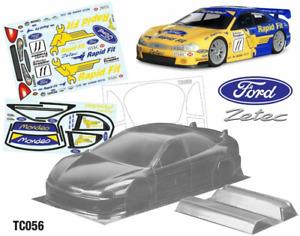 Ford Mondeo BTCC Body (190mm) - Unpainted Tamiya tt01 tt02