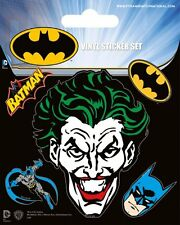 BATMAN AND THE JOKER VINYL STICKERS NEW 100% OFFICIAL MERCHANDISE