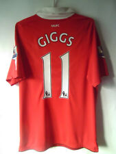 GIGGS !!! 2010-11 Manchester United Home Shirt Jersey Trikot M