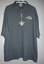 OUTER BANKS MENS NEW POLO GOLF SHIRT STAY CLEAN MAX 2XL, XXL CASUAL SHIRTS LOGO