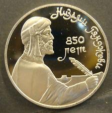 Berühmte Persönlichkeit polierte Platte Münzen aus Russland