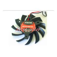 EverCool Video Card Fan EC7010M12C 70x70x10mm , 2pin