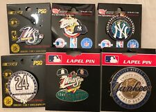 Set of 6 1998 New York Yankees World Series Pins - BLOWOUT PRICE