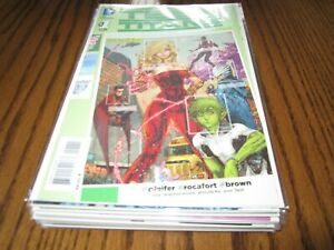 Teen Titans Lot, New 52 #s 1-23, Annual 1, Futures End #1, Complete Run / Set
