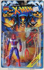 Senyaka + carte Warpath  X-Men Mutant Genesis Series Marvel Toy Biz MOC NEUF