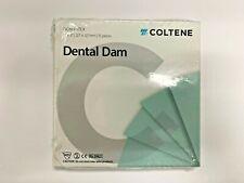 Coltene Whaledent H09928 Hygenic Non Latex Dental Dam 5 X 5 Medium Green 15bx