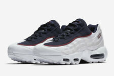 Size 7 Nike Air Max 95 LX Womens NSW White Blue Red Crush Running AA1103-100