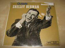 SHELLEY BERMAN Outside ORIG SEALED LP 1959 Verve MG V-15007 1950s Comedy HoleCut