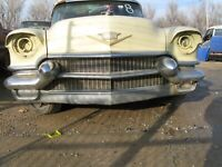 1956 Cadillac DeVille 4 Door Sedan Grille with Mounting Brackets