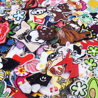 Random Lot of Sew On Patches 50 pcs